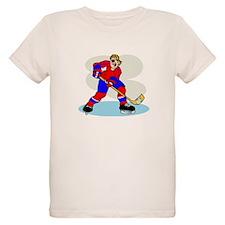Hardcore Hockey Girl T-Shirt