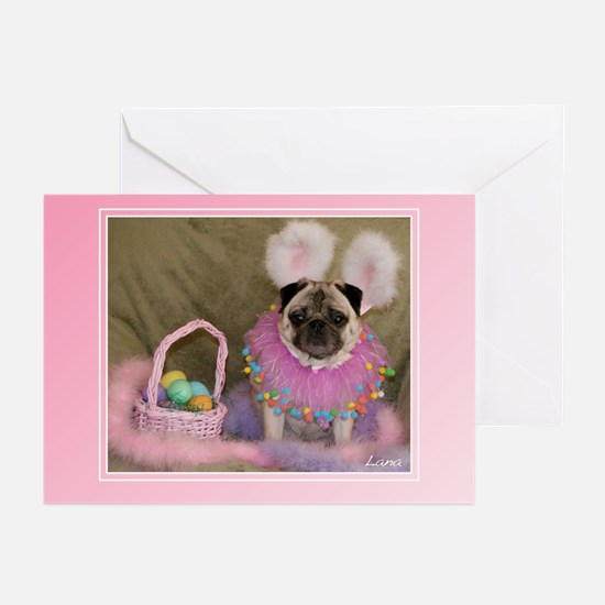 Lana Easter Bunny Greeting Cards (Pk of 10)