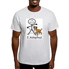 BB Boxer Adoption Ash Grey T-Shirt