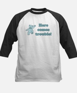 Here Comes Trouble Teddy Tee