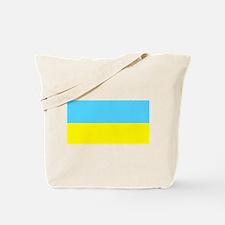 Blank Ukraine Flag Tote Bag