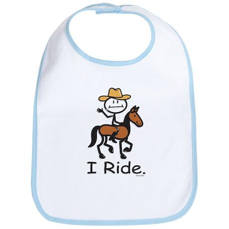 Western horse riding Bib