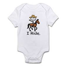 Western horse riding Infant Bodysuit