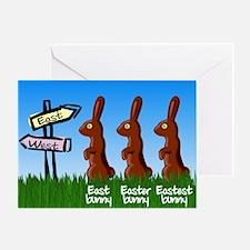 Eastest bunny Greeting Card