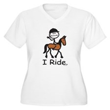 English Horse Riding T-Shirt