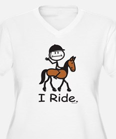 English Horse Riding T-Shirt