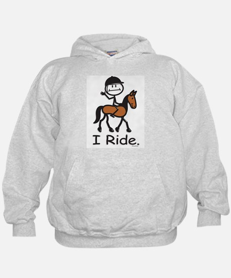 English Horse Riding Hoodie