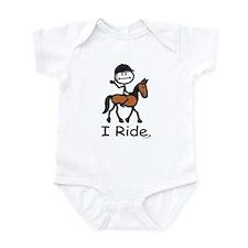 English Horse Riding Infant Bodysuit