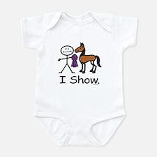 Horse Show Infant Bodysuit