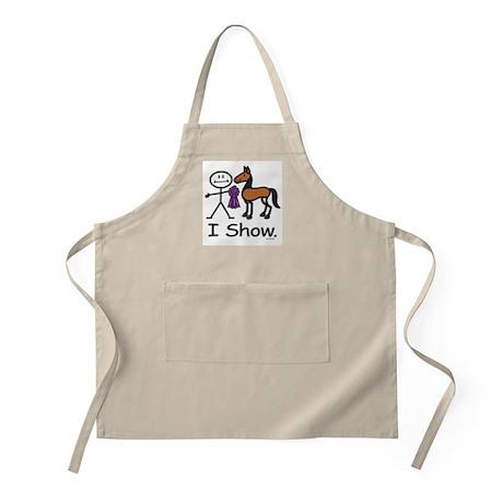Horse Show BBQ Apron