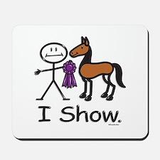 Horse Show Mousepad
