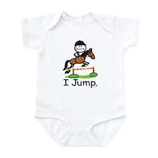 Horse Jumping Infant Bodysuit