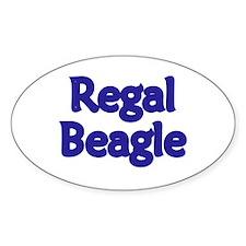 Regal Beagle Decal