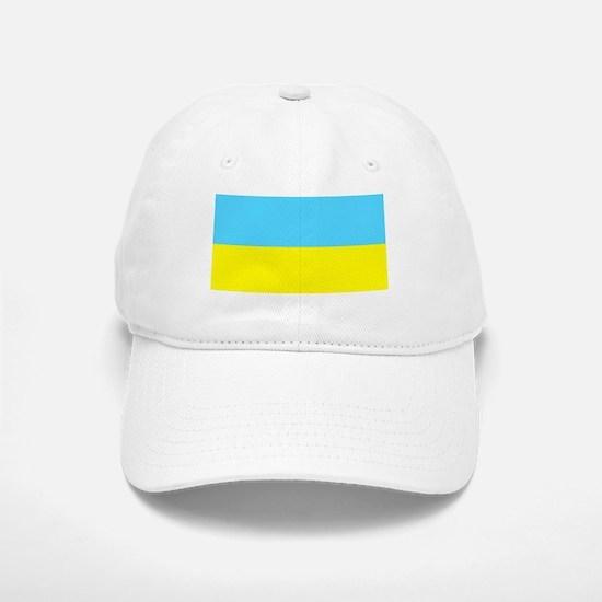 Blank Ukraine Flag Baseball Baseball Baseball Cap Hat