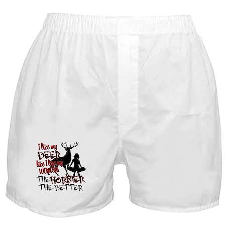 Deer & Women Boxer Shorts