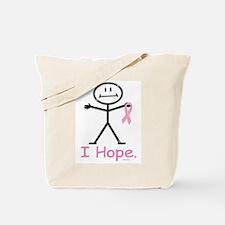 Breast Cancer Pink Ribbon Tote Bag