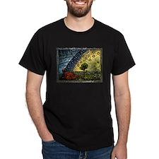 Cute Woodcut engraving T-Shirt