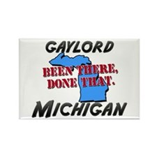 gaylord michigan - been there, done that Rectangle