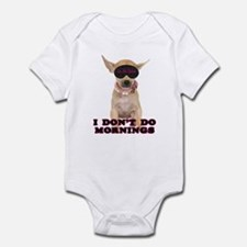 Chihuahua Mornings Infant Bodysuit