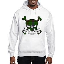 Davidson Tartan Skull Hoodie