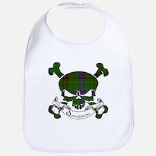 Davidson Tartan Skull Bib