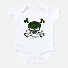Davidson Tartan Skull Infant Bodysuit