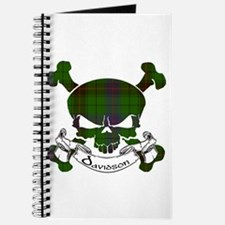 Davidson Tartan Skull Journal