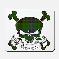 Davidson Tartan Skull Mousepad