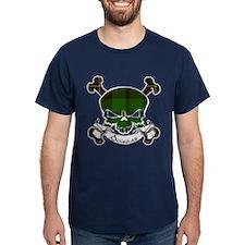 Douglas Tartan Skull T-Shirt