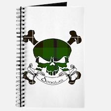 Douglas Tartan Skull Journal