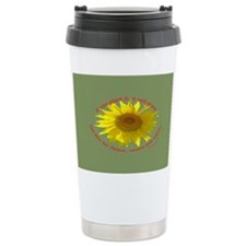 Garden for Peace Travel Coffee Mug