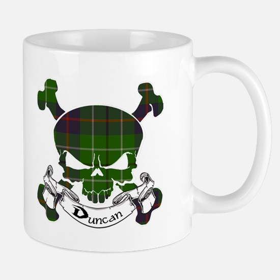 Duncan Tartan Skull Mug