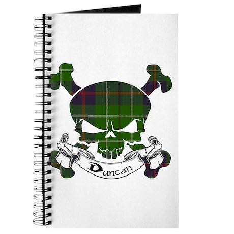 Duncan Tartan Skull Journal