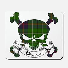 Duncan Tartan Skull Mousepad