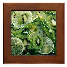Kiwi Lime - Framed Tile