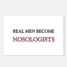 Real Men Become Nosologists Postcards (Package of