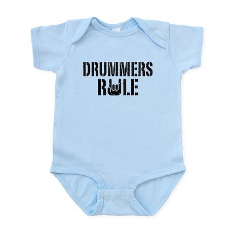 Drummers Rule Infant Bodysuit