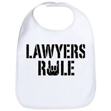 Lawyers Rule Bib