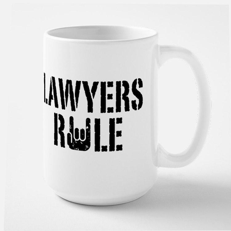 Lawyers Rule Mug