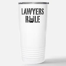 Lawyers Rule Travel Mug
