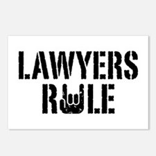 Lawyers Rule Postcards (Package of 8)
