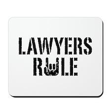 Lawyers Rule Mousepad