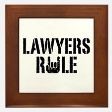 Lawyers Rule Framed Tile