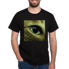 Sokoke Cat Eye Black T-Shirt