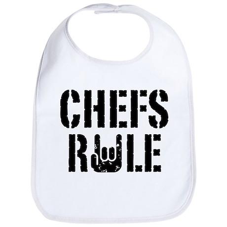 Chefs Rule Bib