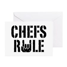 Chefs Rule Greeting Cards (Pk of 10)
