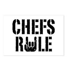 Chefs Rule Postcards (Package of 8)