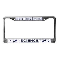 Science Hardcore License Plate Frame