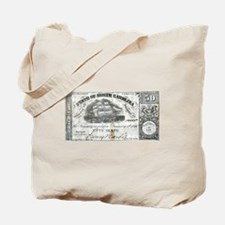 Funny Numismatic Tote Bag
