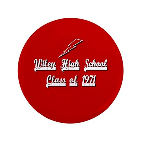 "Wiley Red Streaks Alumni 1971 3.5"" Button (100 pac"